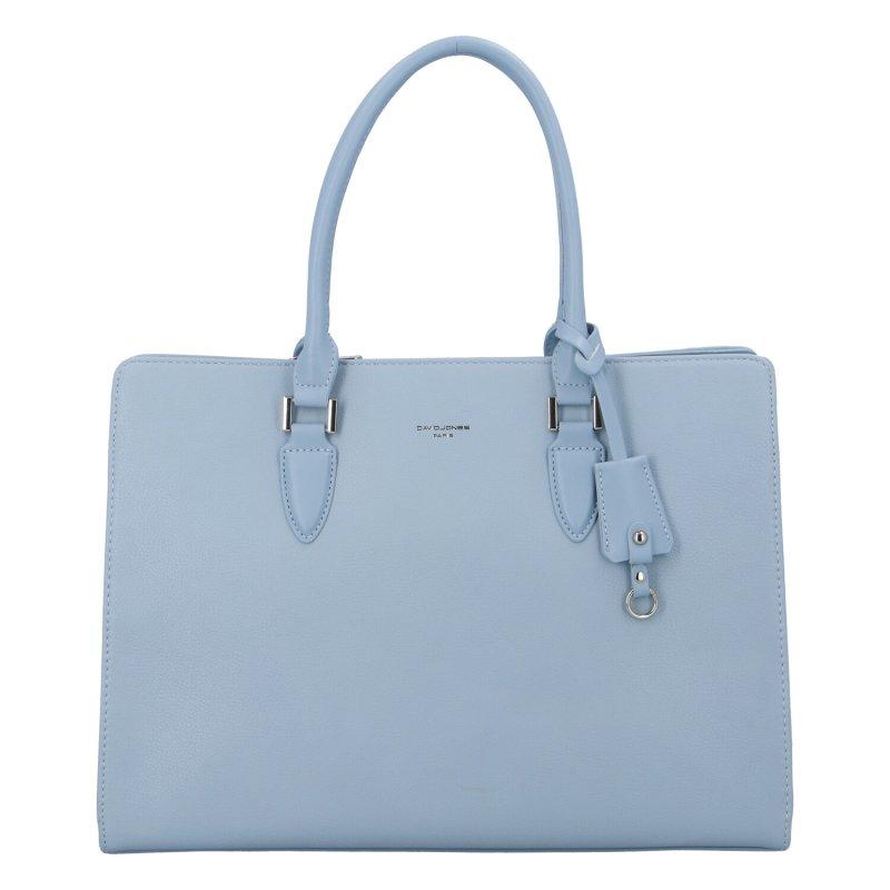 Dámská koženková kabelka Indila, světle modrá