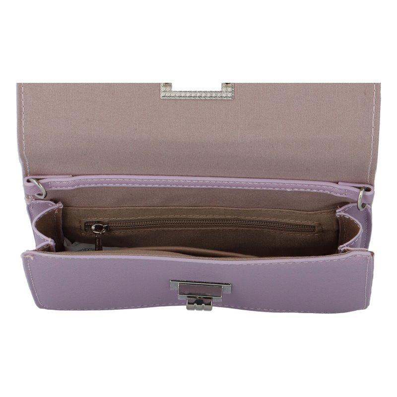 Dámské módní koženkové psaníčko Nina, fialová
