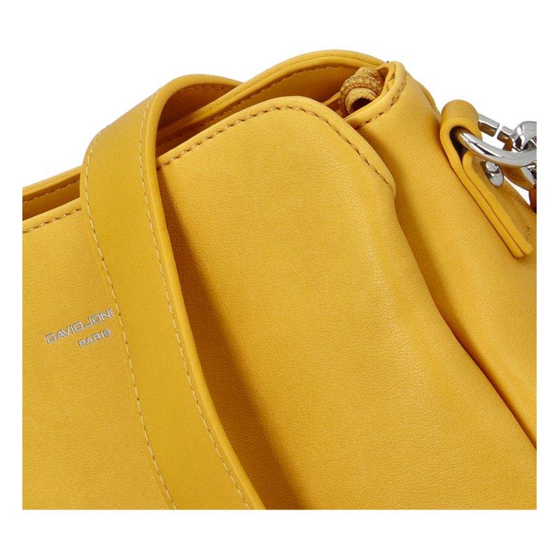 Menší dámské crossbody Tres, žluté