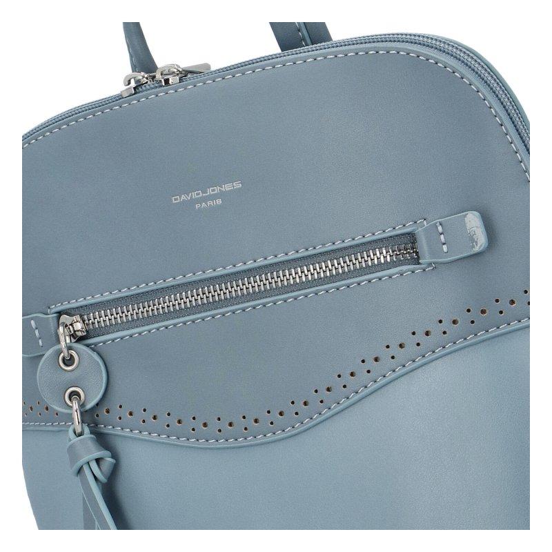 Koženkový batůžek David Jones Rosie, světle modrý