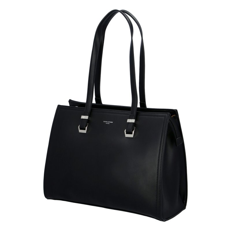 Dámská koženková kabelka Rosalie, černá