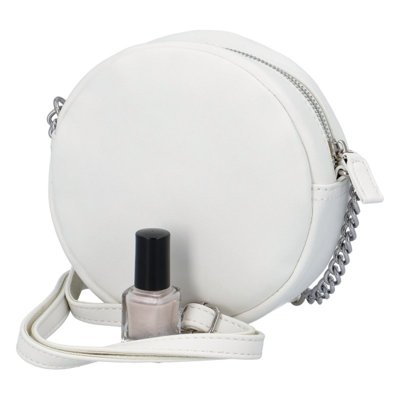 Menší moderní kabelka Anastasia dream, bílá