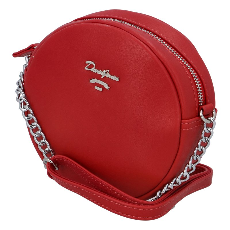 Menší moderní kabelka Anastasia dream, červená