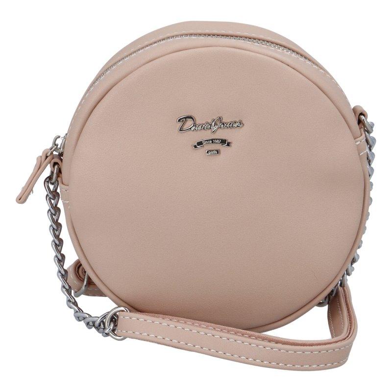 Menší moderní kabelka Anastasia dream, růžová