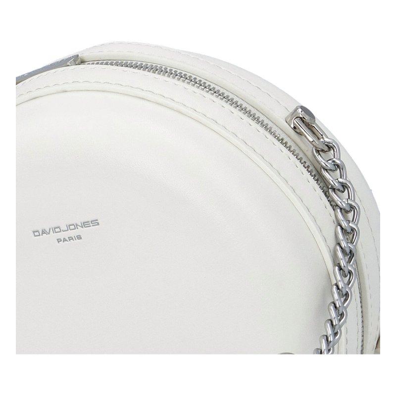 Menší moderní kabelka Anas dream, bílá