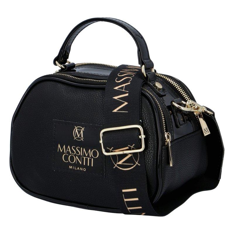 Trendová dámská kabelka MCO Luxury, černá matná