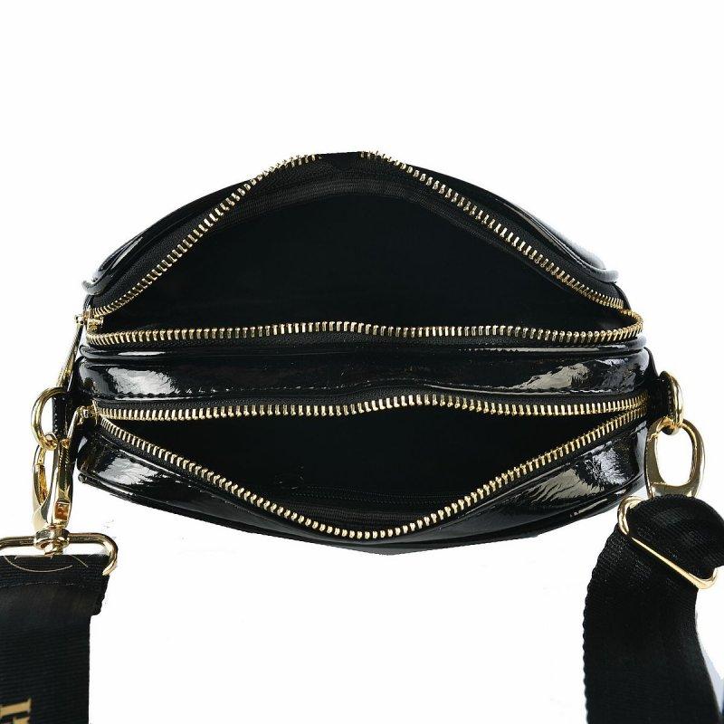 Dámská trendová koženková kabelka LB Emily, černá