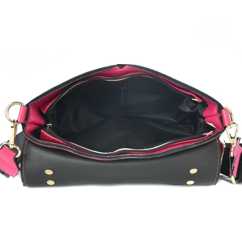 Dámská trendová kabelka LB Dream in fuchsia, růžová