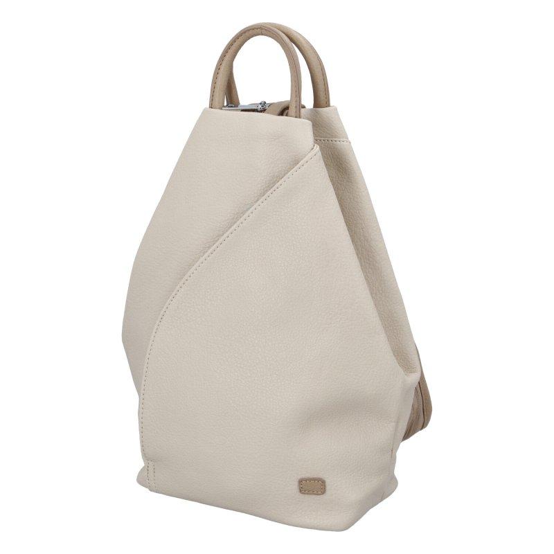 Dámský koženkový batůžek Ellie, apricot
