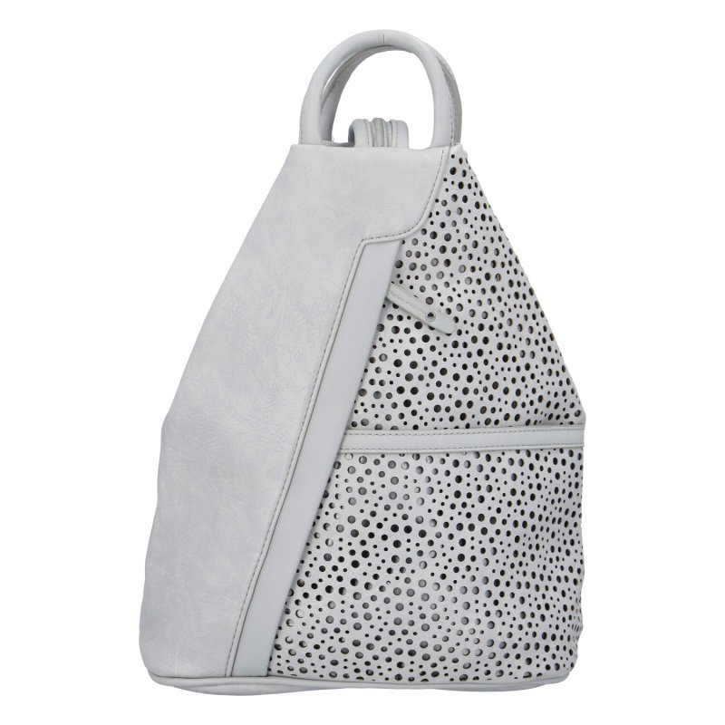 Dámský koženkový batůžek Ive,šedý