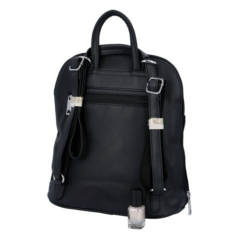 Dámský zajímavý batůžek Rita, černý