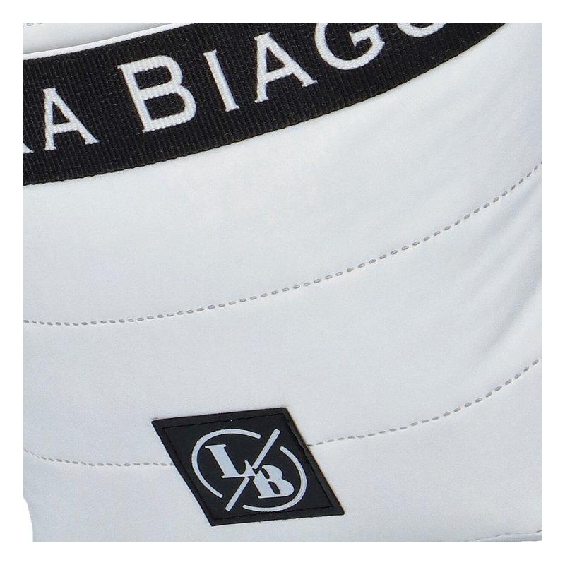 Sportovní menší crossbody LB Bean, černo-bílá