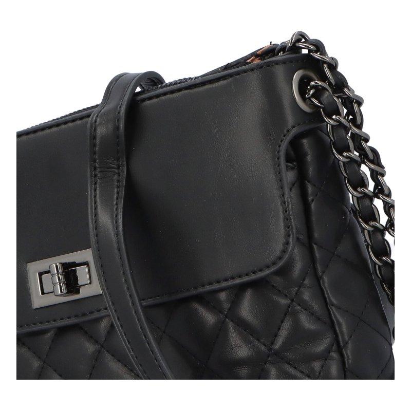 Stylová crossbody kabelka Delta, černá