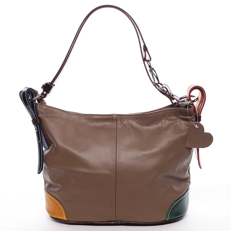a2a601e635 Dámská kožená kabelka Andrea