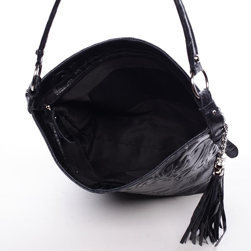 Stylová dámská kabelka Anjali, černá