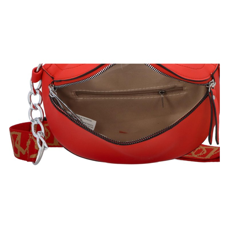 Malá módní ledvinka LOV3inPocket, červená