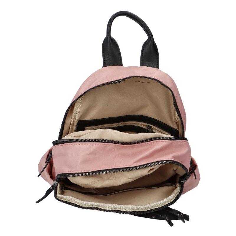 Praktický městský batoh Revoir, pink