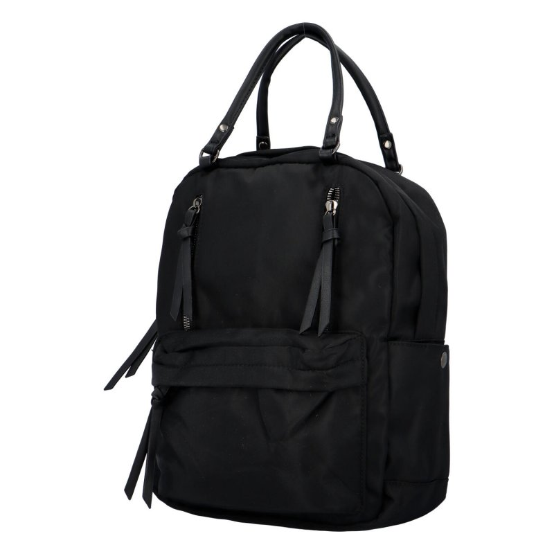 Stylový městský batoh Funky, černá