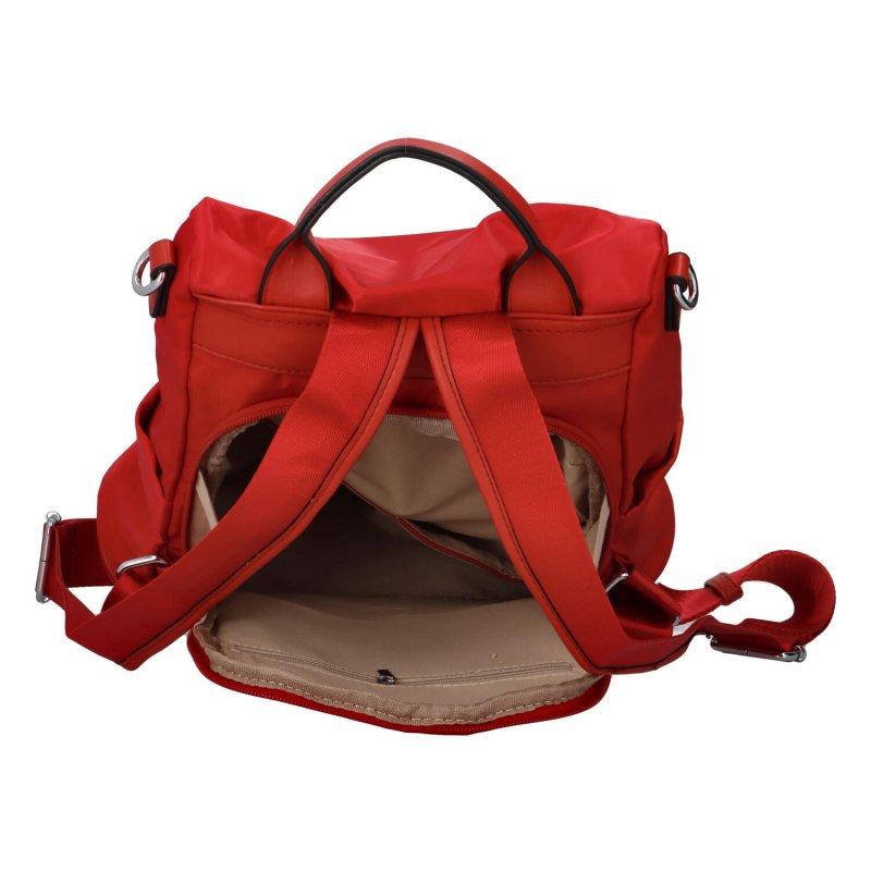 Praktický městský batoh Mood, červená