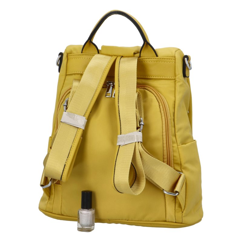 Praktický městský batoh Mood, žlutá