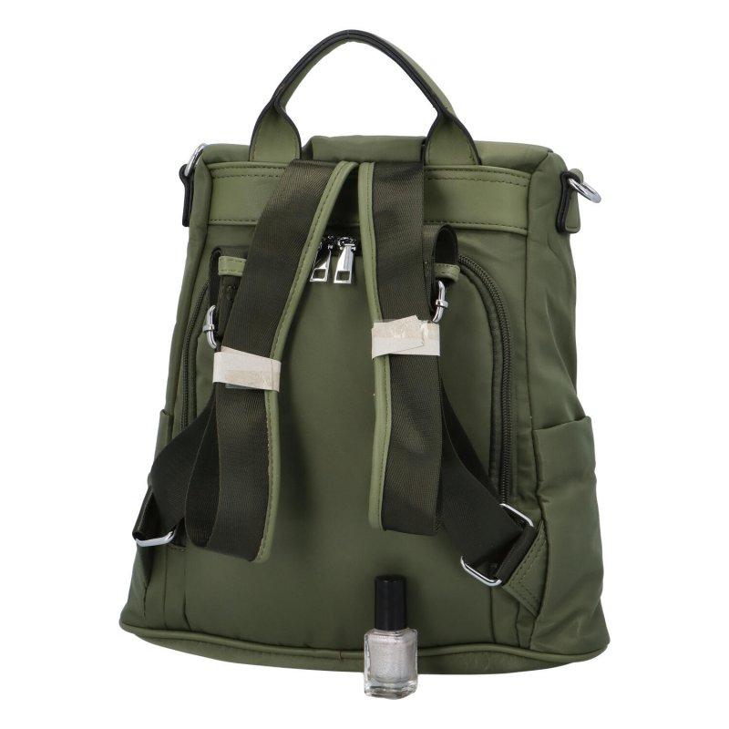 Praktický městský batoh Mood, zelená