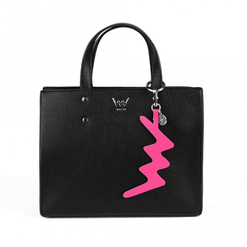Dámská koženková kabelka VUCH Jenny, černá