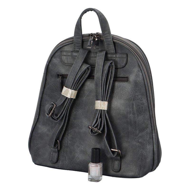 Stylový městský batůžek Gigi, šedý
