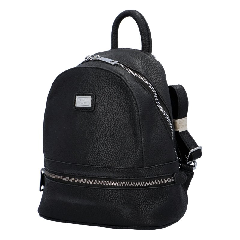 Malý městský batůžek Cyntri, černý