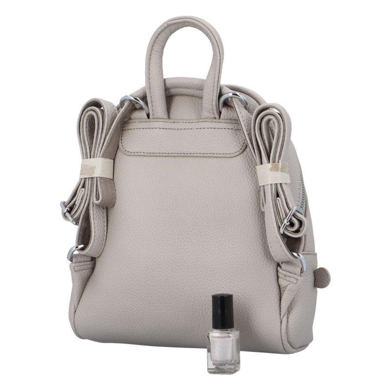 Malý městský batůžek Cyntri, šedý