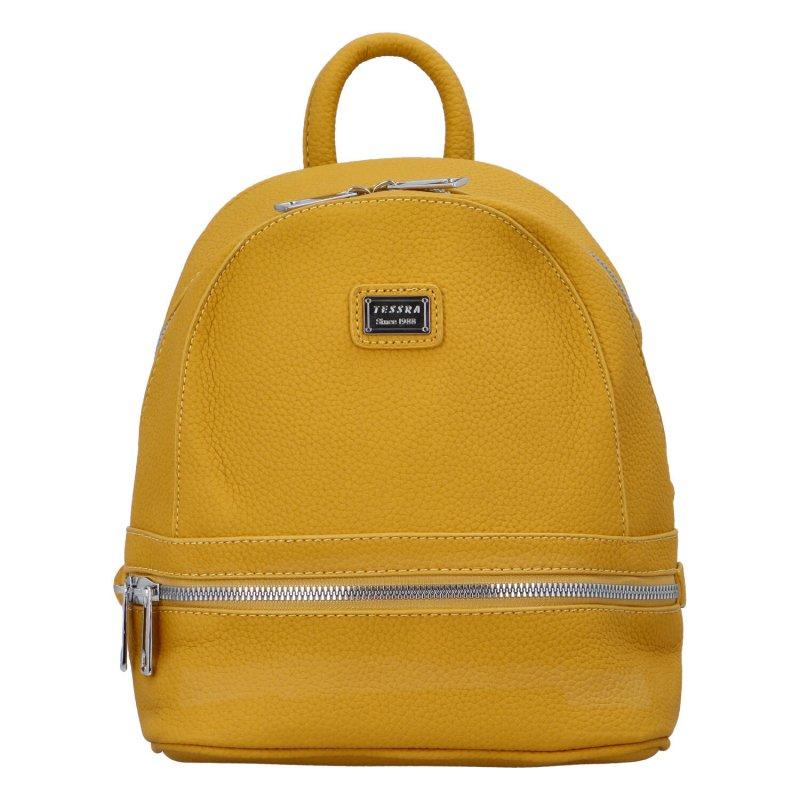 Malý městský batůžek Cyntri, žlutý