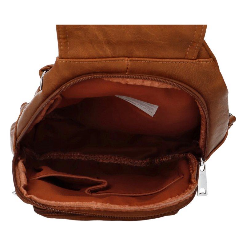 Městský batoh Loui, hnědý