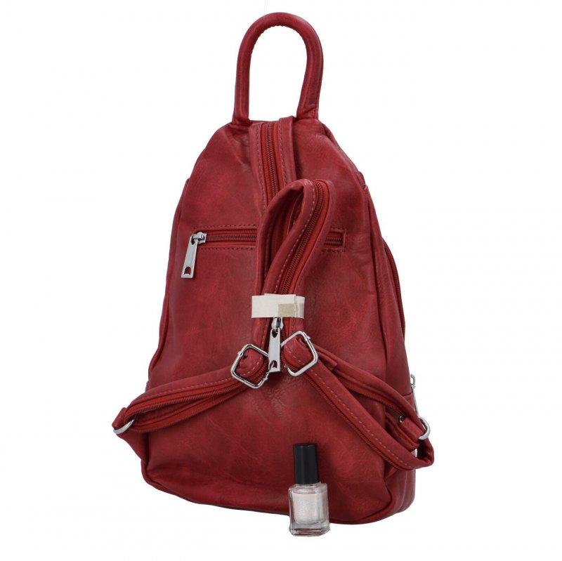 Městský batoh Loui, vínový