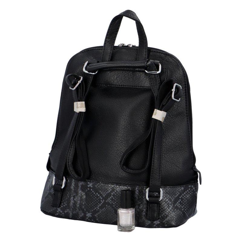 Trendový městský batoh Reid, black