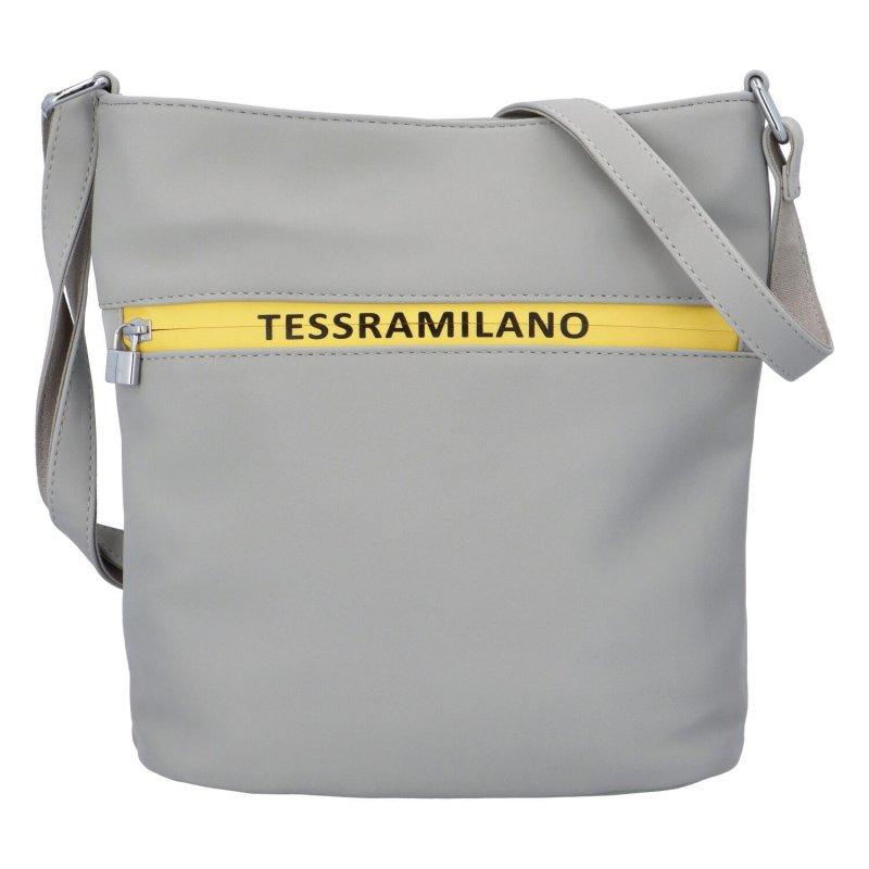 Designové crossbody Milano, šedé