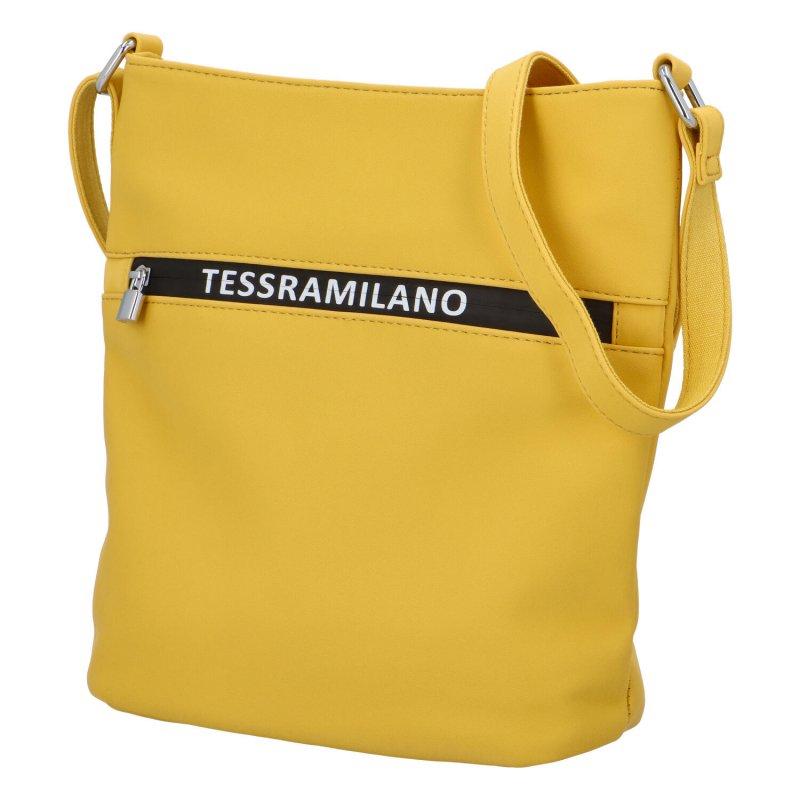 Designové crossbody Milano, žluté