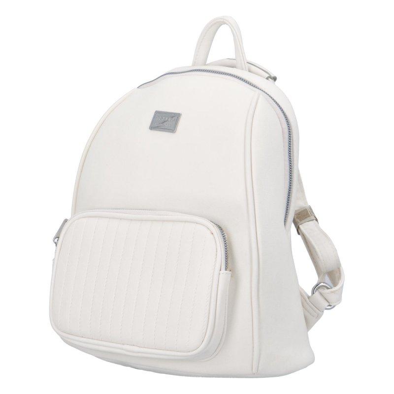 Moderní batoh Virin, bílý