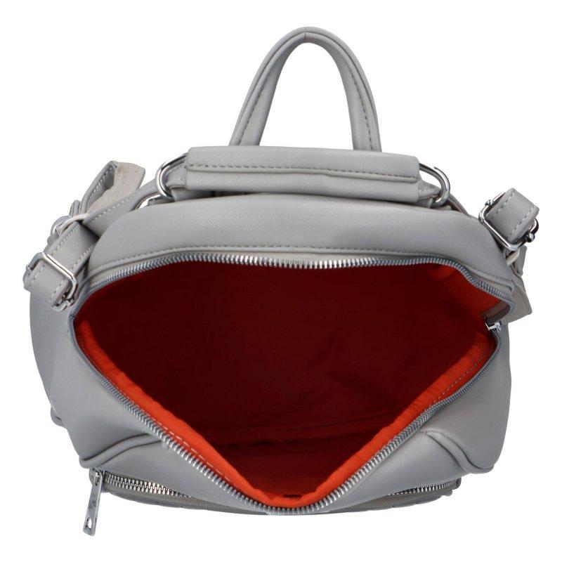 Moderní batoh Virin, šedý