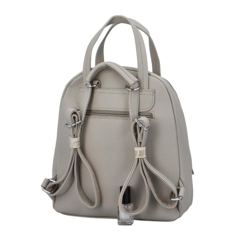 Městský batoh vhodný i do ruky Mauriel, šedý