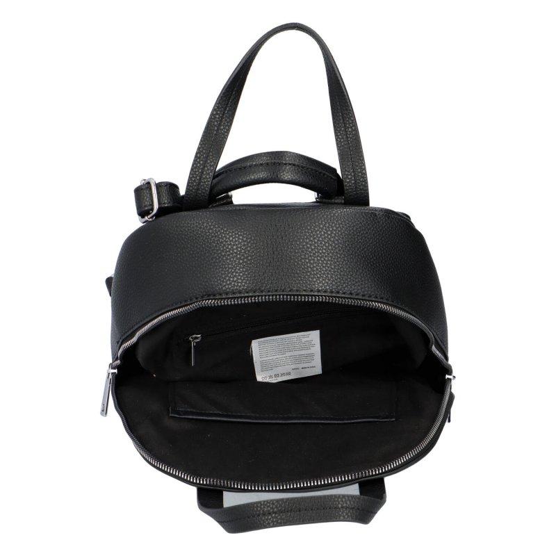 Městský batoh vhodný i do ruky Mauriel, černý