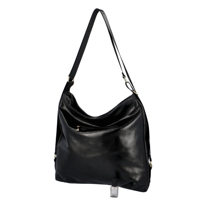 Praktická dámská taška L.B. Jeann, černá
