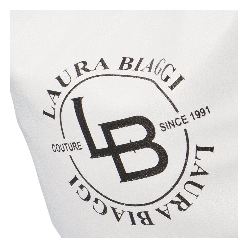 Dámská trendy kabelka Laura B. Clara, bílá