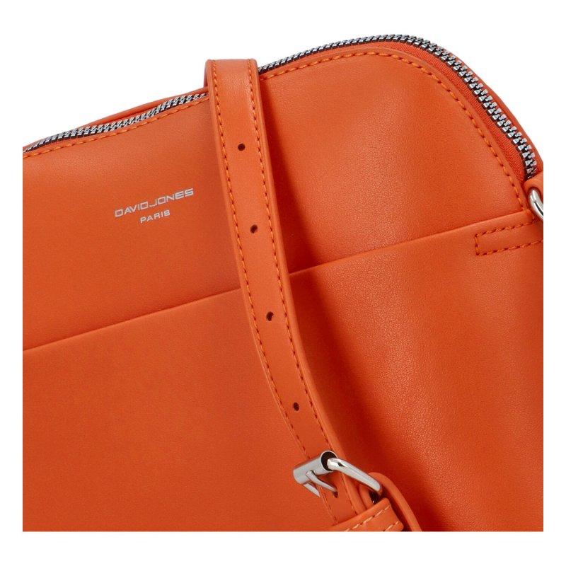 Minimalistické crossbody George, oranžové