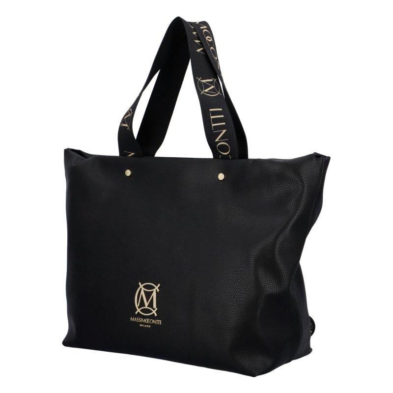 Prostorná dámská kabelka MCO Clara, černá