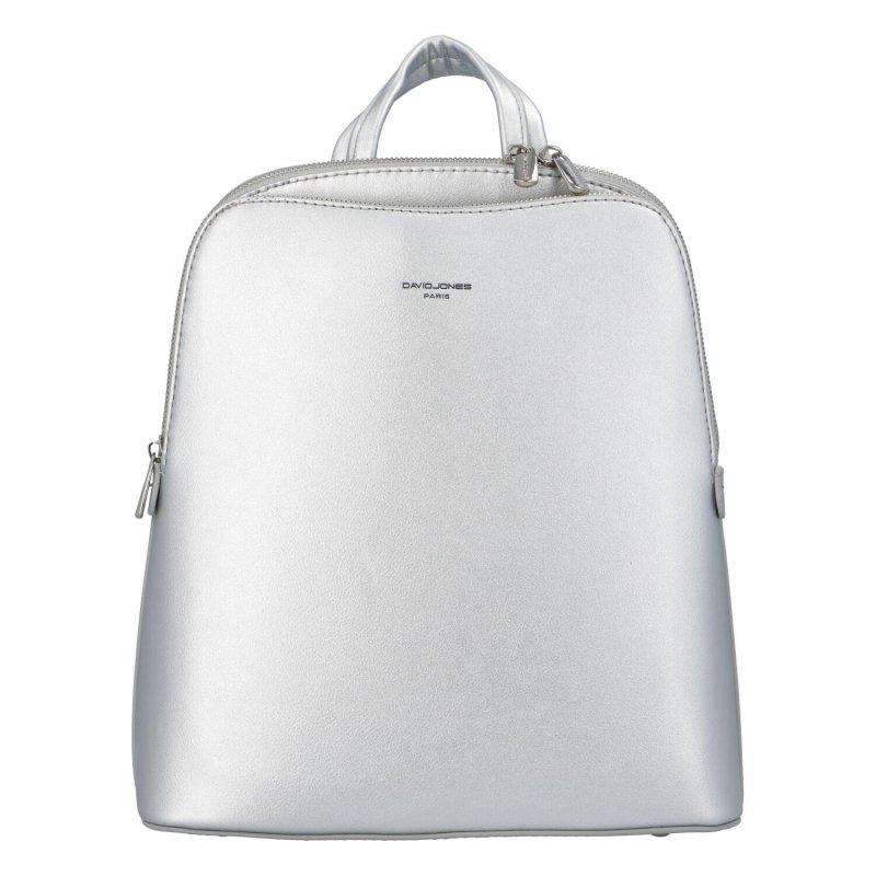 Minimalistický městský batůžek Santa Jones, stříbrný