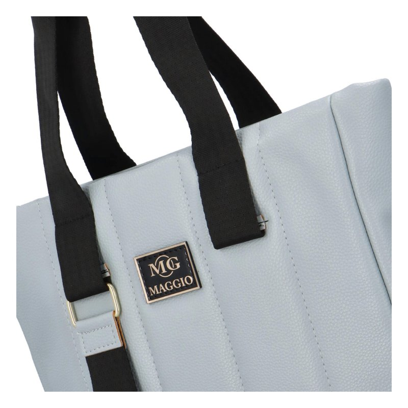Luxusní prošívaná kabelka Maggio Lux, modrá