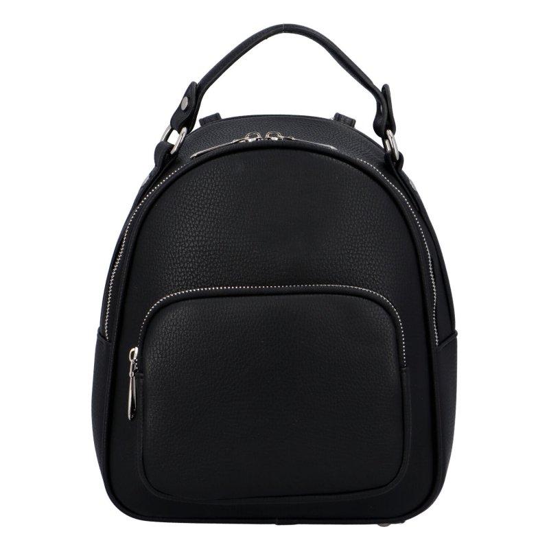 Menší dámský batůžek Rosa, černý