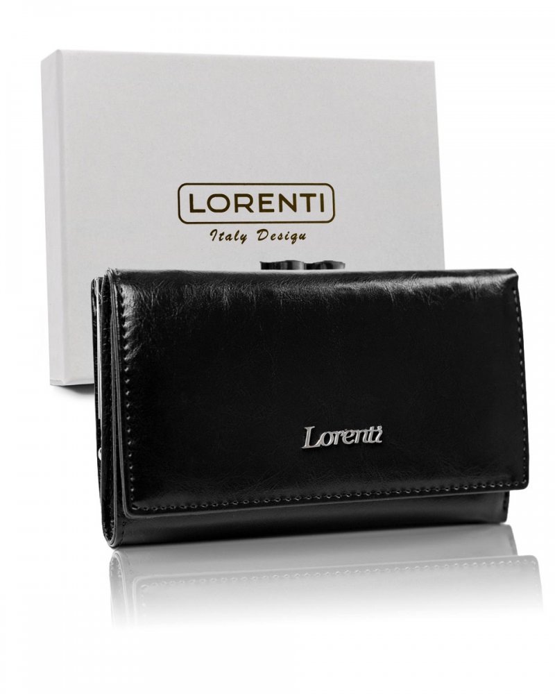 Dámská kožená peněženka Belma, černá