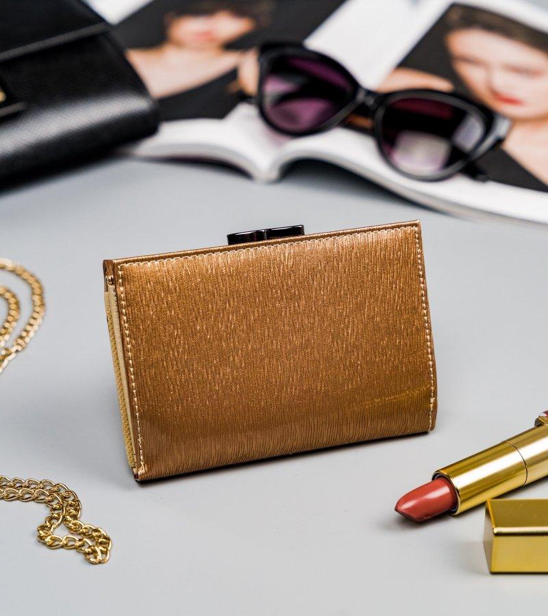 Stylová kožená peněženka Grace, zlatá
