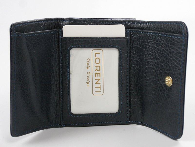 Krásná dámská kožená peněženka Majk, modrá