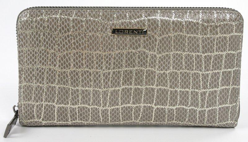 Kožená dámská peněženka Pietro, šedá